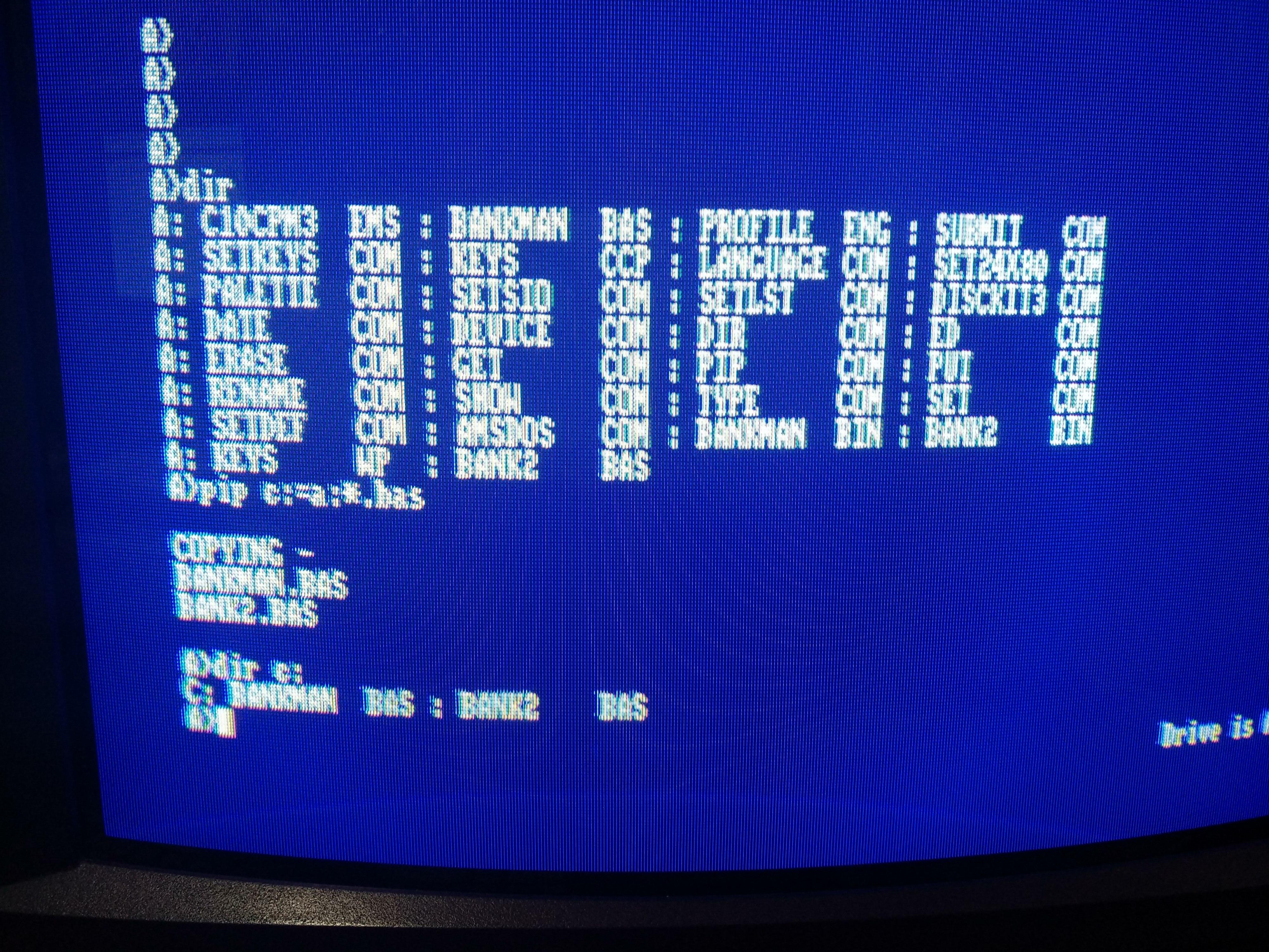 Curso CP/M para Amstrad CPC: Comandos Básicos 6