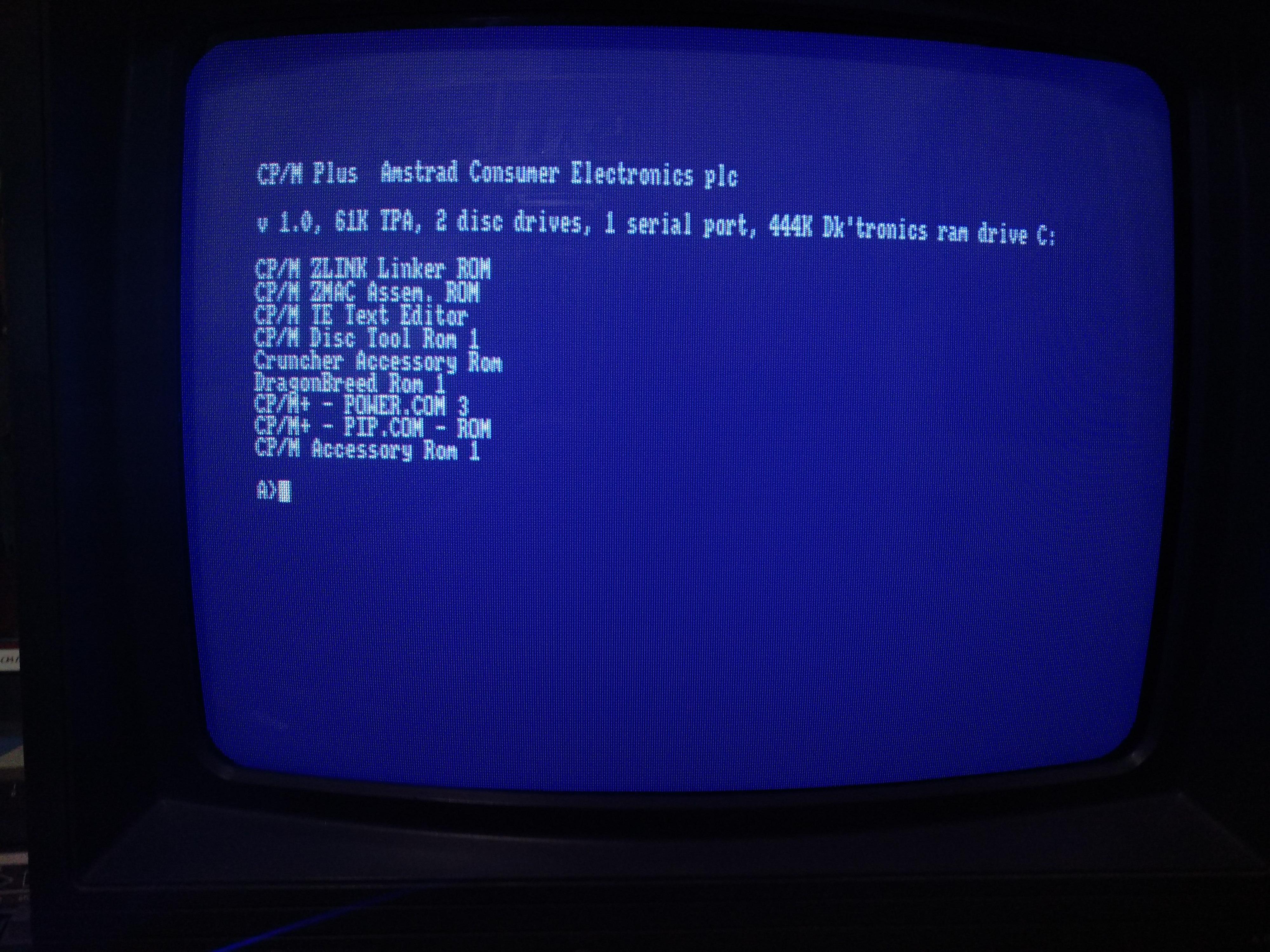 Curso CP/M para Amstrad CPC: los comandos 5