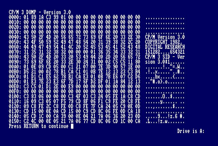 Curso CP/M para Amstrad CPC: los comandos 3