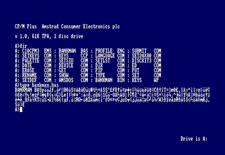 Curso CP/M para Amstrad CPC: los comandos 2